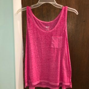 Mossimo Supply Co. Pink Tank Top